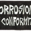 Corrosion Of Conformity Iron-On Patch Letters Logo