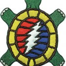 Grateful Dead Iron-On Patch Turtle Logo
