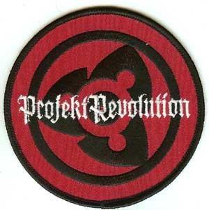 Linkin Park Iron-On Patch Projekt Revolution Logo