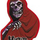 Misfits Iron-On Patch Red Fiend Logo