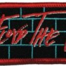 Pink Floyd Iron-On Patch The Wall Blocks Logo