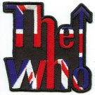 The Who Iron-On Patch Arrow Logo