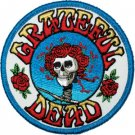 Grateful Dead Iron-On Patch Bertha Rose Circle