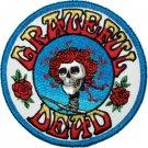 Grateful Dead Iron-On Patch Bertha Rose Circle