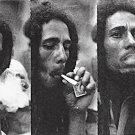 Bob Marley Poster Flag Triple Smoke Tapestry