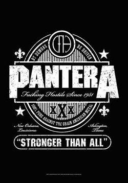 Pantera Poster Flag Beer Label Tapestry