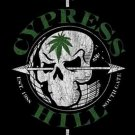 Cypress Hill Poster Flag Leaf Skull Tapestry