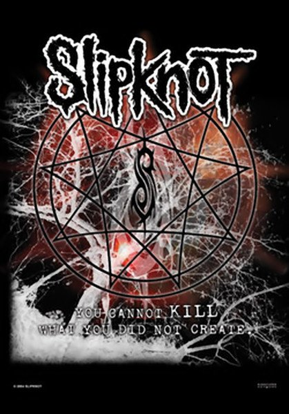 Slipknot Poster Flag Cannot Kill Tapestry