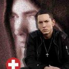 Eminem Poster Flag Sitting Photo Tapestry