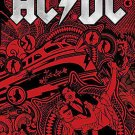 AC/DC Poster Flag Rock N Roll Train Tapestry