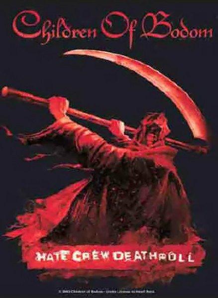 Children Of Bodom Poster Flag Hate Crew Tapestry