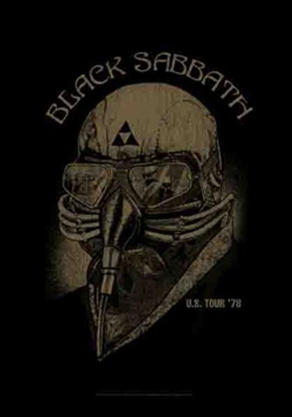 Black Sabbath Poster Flag US Tour 1978 Tapestry