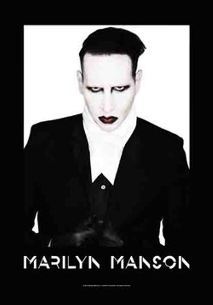 Marilyn Manson Poster Flag Proper Tapestry