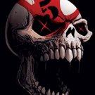 Five Finger Death Punch Fabric Door Poster Speech Skull