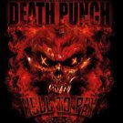 Five Finger Death Punch Poster Flag Hell To Pay Tapestry