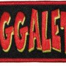 Insane Clown Posse Iron-On Patch Juggalette Letters Logo