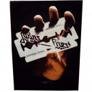 Judas Priest Sew On Canvas Back Patch British Steel Logo