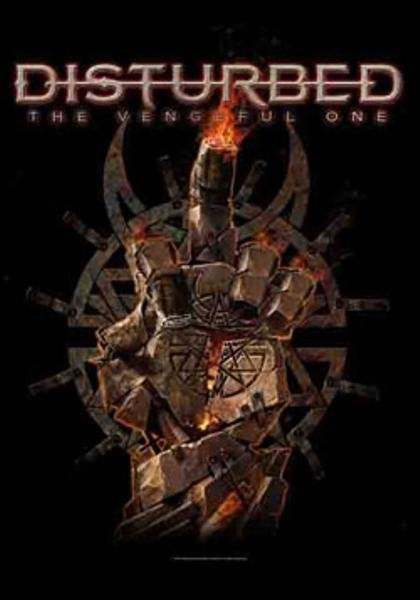 Disturbed Poster Flag The Vengeful One Tapestry