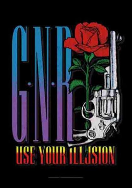 Guns n' Roses Poster Flag GNR Logo Tapestry