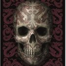 Anne Stokes Poster Flag Oriental Skull