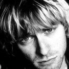 Kurt Cobain Poster Flag Face Photo