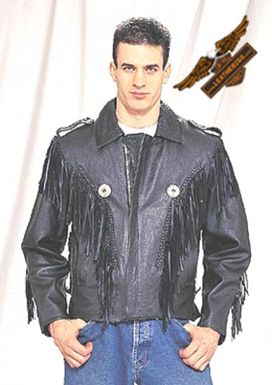 Black Bon Jovi Jacket - Durable Leather