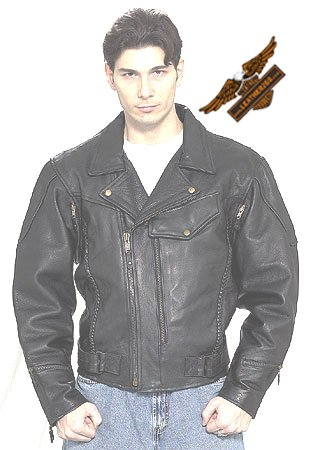 Black Pistol Pete Jacket - Soft Leather