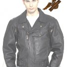 Black Pistol Pete Jacket - Soft Leather