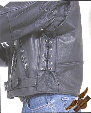 Classic Black Jacket - Split Cowhide Leather