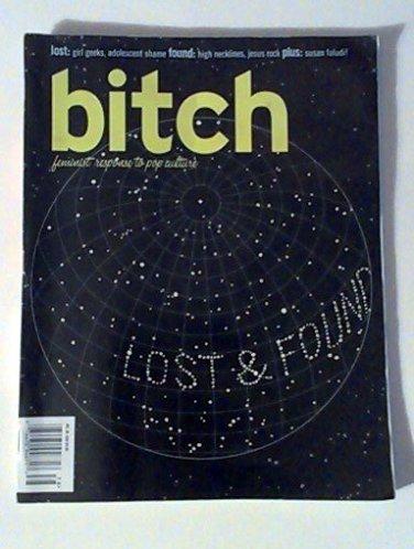 Bitch Magazine, Issue 38, Winter 2008, Lost & Found Issue
