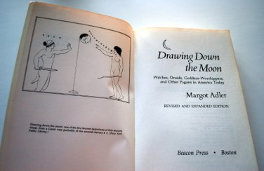 Book, Vintage, Drawing Down the Moon, Adler, 1986