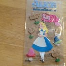 New Scrapbook Embellishment stickers Disney Alice and Wonderland $3.99