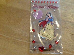 New Scrapbook Embellishment stickers Disney Snowwhite jeweled $4.99