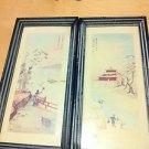 Lot of 2 Oriental Vintage Wall Pictures $49.99