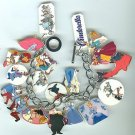 Beautiful Disney Cinderella Charm Bracelet Mice, Carriage, Prince,$39.99