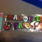 New Scrapbook Embellistment Sticker Halloween Parade Sparkly $2.99