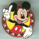 Walt Disney World Mickey Mouse with Mickey Mouse Head Border Pin $7.99