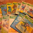 Lot of 12 Vintage Sesame Street Books Book Hardback 1970's $45.00