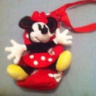 New Minnie Mouse Water Bottle Holder w/ plush stuffed animal attached $12.99