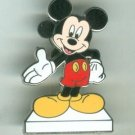 Walt Disney World Classic Mickey Mouse on White Stand Pin 2009 $12.99