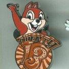 Walt Disney World Twenty 13 Chip n Dale Pin 2013 $9.99