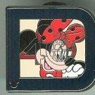 Walt Disney World Minnie Mouse D Pin 40th Year 2011 Hidden Mickey Pin $8.99