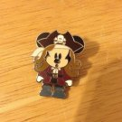 Authentic Mickey Mouse Cutie 2007 Pirate Caribbean Jack Sparrow Disney Pin