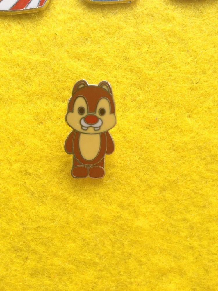 Good Chip Dale Chipmunk  Cutie Character Disney Pin