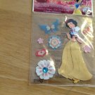 New Scrapbook Embellishment stickers Disney Snowwhite flowers