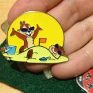 Authentic 2012 Chip and Dale Sun Fun Beach Sunglasses Buried Disney Pin