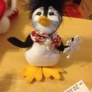 "Annalee Mobilitee 4"" Snowflake Penguin New with Tags $16.99"