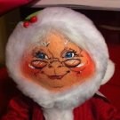 "Large Annalee Mobilitee Doll Mrs. Clause 13"" Christmas Doll $39.99"