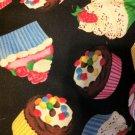 "Large Cute Cupcake Cup Cake Print Totebag Purse 16"" x 16"" $24.99"
