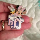 Authentic Walt Disney World BFF Minnie Mouse & Daisy Duck Sparkle Pin $14.99